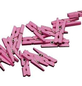 Feestfestijn Miniknijpers Roze 24 stuks