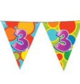 Feestfestijn Vlaggenlijn 3 jaar