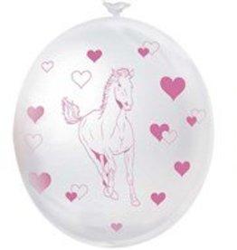 Feestfestijn Paarden ballonnen  6 stuks