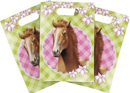 Feestfestijn Uitdeelzakjes Paarden 6 stuks