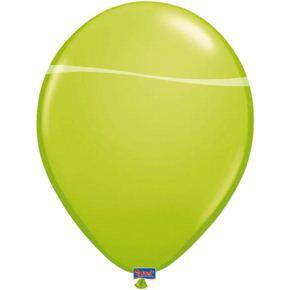Feestfestijn Ballon Lichtgroen 100 stuks - 30cm