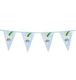 Feestfestijn Vlaggenlijn Een Jongen / Baby Boy