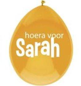 Feestfestijn Ballon Sarah 6 stuks
