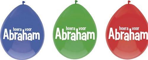 Feestfestijn Ballon Abraham 6 stuks