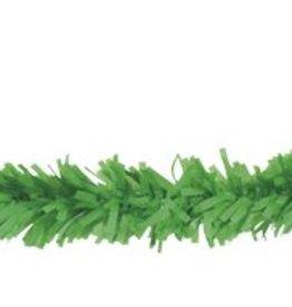 Feestfestijn PVC slinger 10 meter Groen brandvertragend