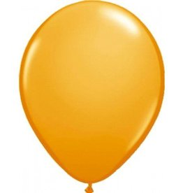 Feestfestijn Ballon Oranje 100 stuks