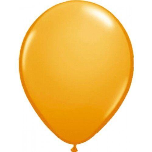 Feestfestijn Ballon Oranje 100 stuks - 30cm