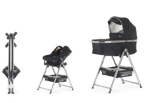 Bébécar Standaard voor reiswieg en autostoel - chroom