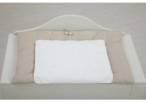 Nanan Aankleedkussen Tato - wit/beige