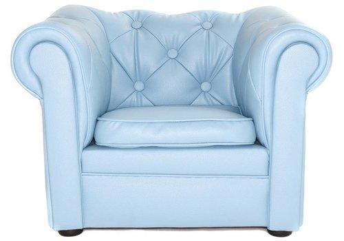 Olivier & Co Chester Sofa mini - mat Licht Blauw