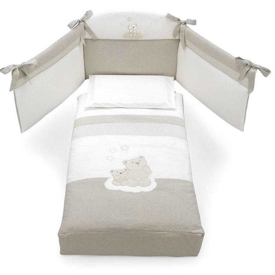 Stootrandenset voor babykamer Nuvola en Nuvoletta