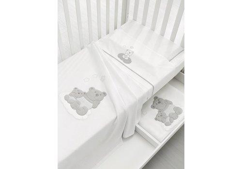 Erbesi Lakenset voor babykamer Nuvola en Nuvoletta