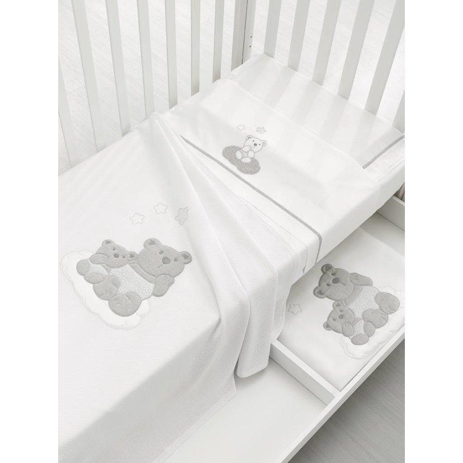 Lakenset voor babykamer Nuvola en Nuvoletta