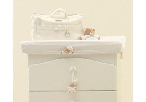 Nanan Hoes voor aankleedkussen Tato - Wit