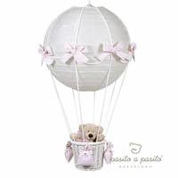 Luchtballon lamp - Roze