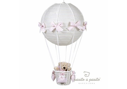 Pasito a Pasito Luchtballon lamp - Roze