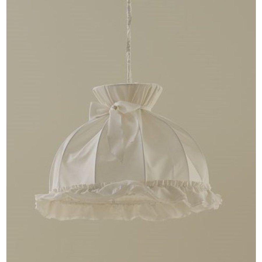 Hanglamp met strik Prestige - Wit