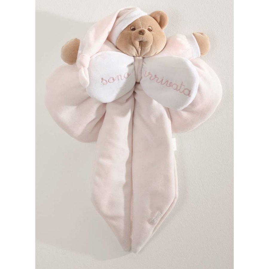 Geboortestrik - Roze