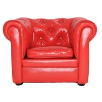 Chester Sofa mini - mat Rood