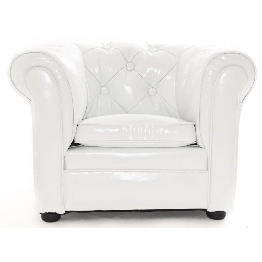 Chester Sofa mini - glans Wit