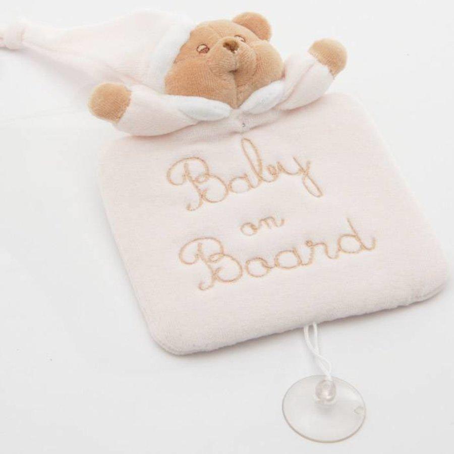 baby on board Puccio - Roze