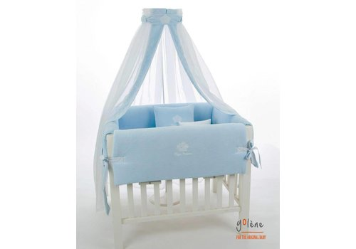 Royal Baby Collection velours hemel - blauw