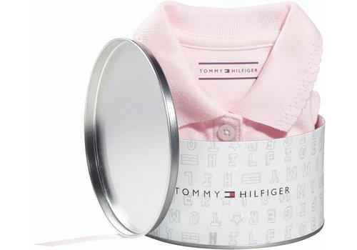 Tommy Hilfiger romper in cadeaublik - roze