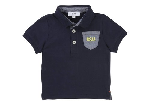 Hugo Boss polo met borstzakje