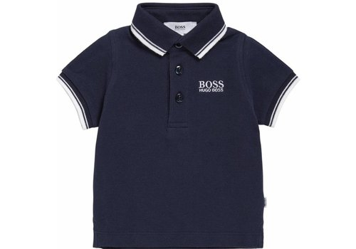 Hugo Boss polo - donkerblauw