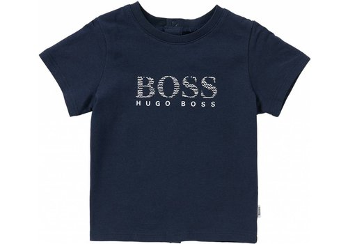 Hugo Boss t-shirt - donkerblauw