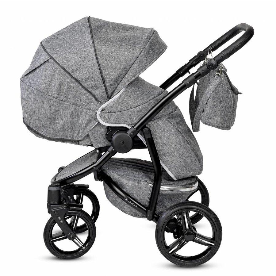 Atlanta kinderwagen - grijs