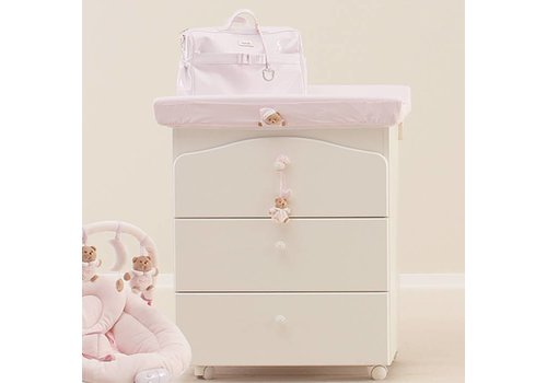 Nanan Hoes voor aankleedkussen Puccio - Roze