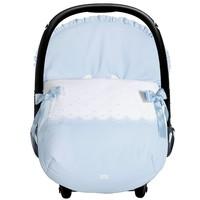autostoel voetenzak - blauw