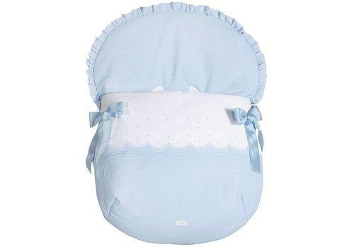 Uzturre autostoel voetenzak - blauw