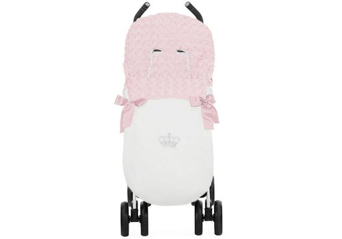 Uzturre buggy voetenzak - wit/roze