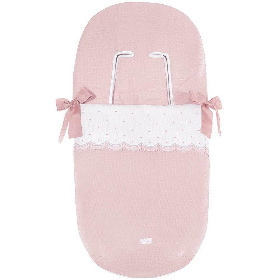 buggy voetenzak - roze