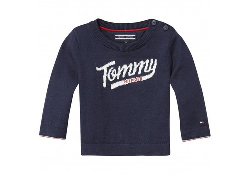 Tommy Hilfiger trui tommy - donkerblauw