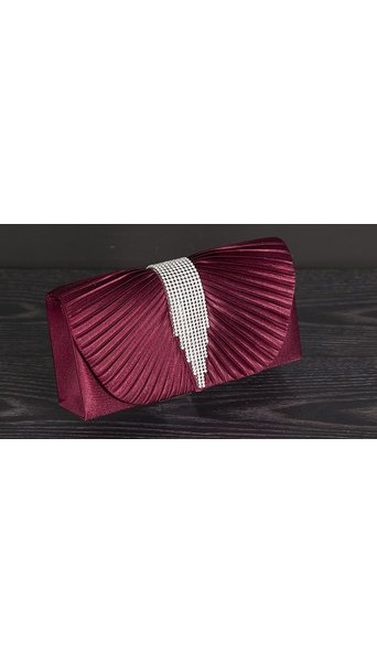 Divers Clutch bordeaux 1013