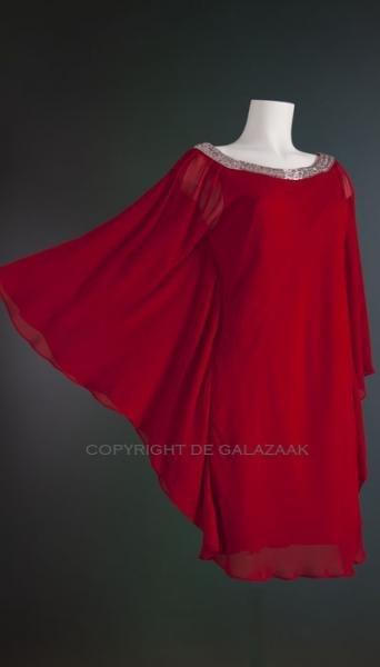 Mascara Cocktailjurk rood 1192