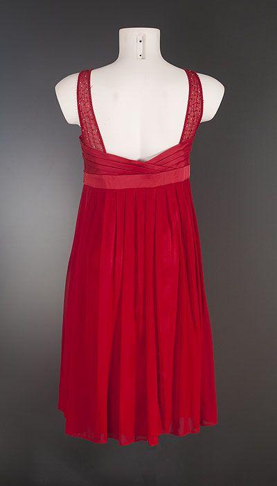 Lautinel Cocktailjurk rood 1526
