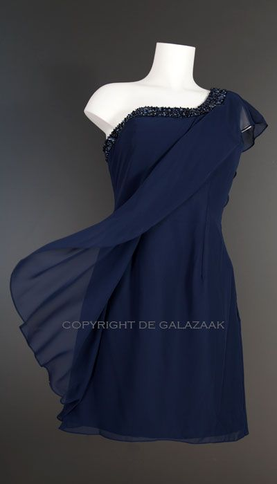 Magic Nights Cocktailjurk navy blauw 1559