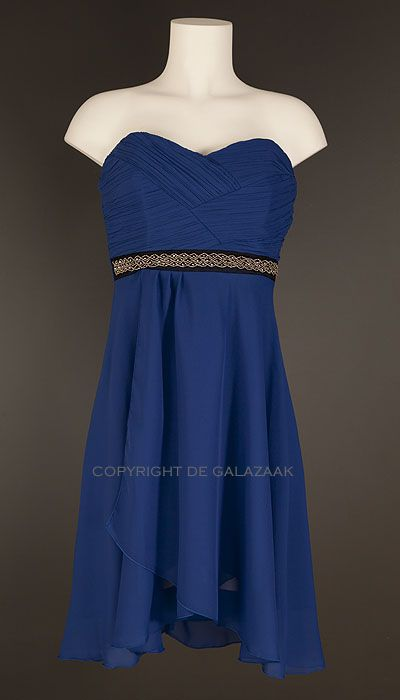 Paris Collection Cocktailjurk royal blue 1896