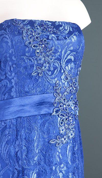 Ashwi Galajurk kobaltblauw kant 1056