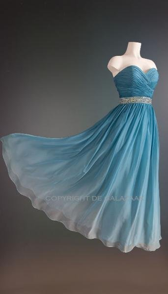 Magic Nights Galajurk blauw ombre 1086