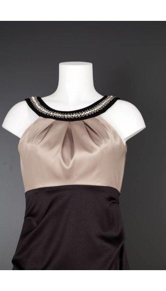 Paris Collection Galajurk in beige zwart 2192