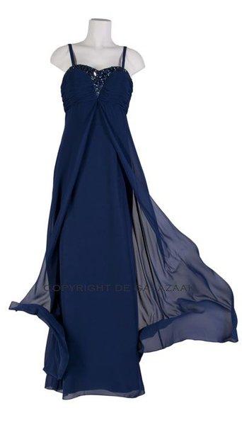 Magic Nights Navy blauwe galajurk