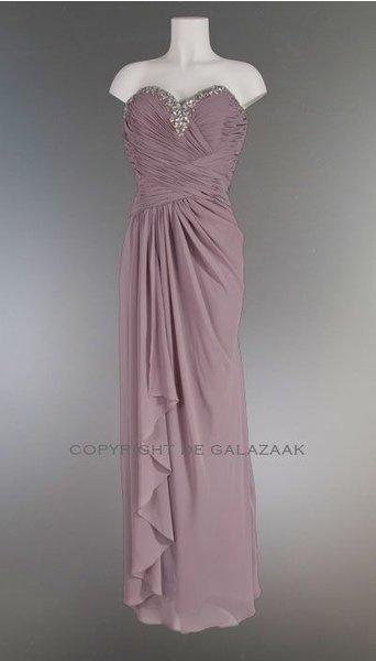 Oud roze galajurk 2227