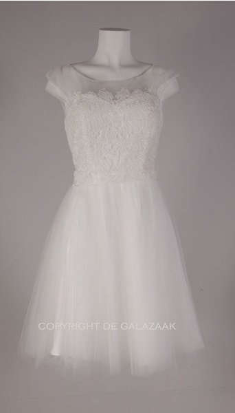 Korte trouwjurk 2508