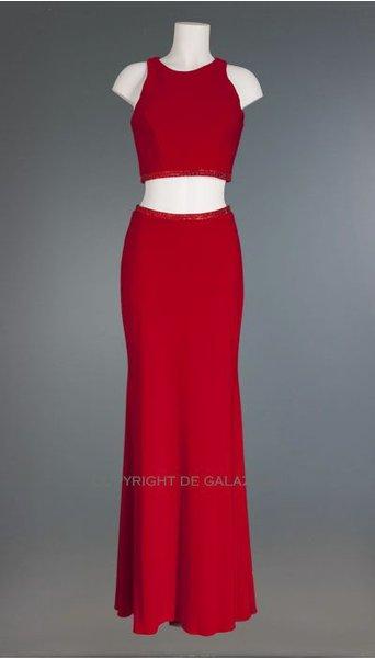 Mascara Galajurk in rood 2472