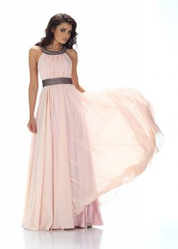 Lange bruidsmeisjes jurken